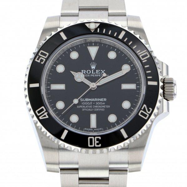 【初売り】 ロレックス ROLEX サブマリーナ 114060 ブラック文字盤  腕時計 メンズ, 焦点工房 a6c5a59c