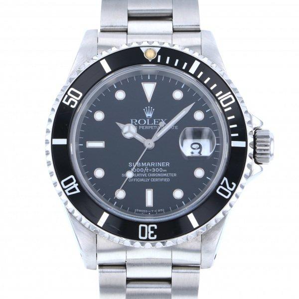 【限定品】 ロレックス ROLEX サブマリーナ デイト 16610 ブラック文字盤  腕時計 メンズ, GRYPS 時計と鞄と雑貨の店 79c3876b