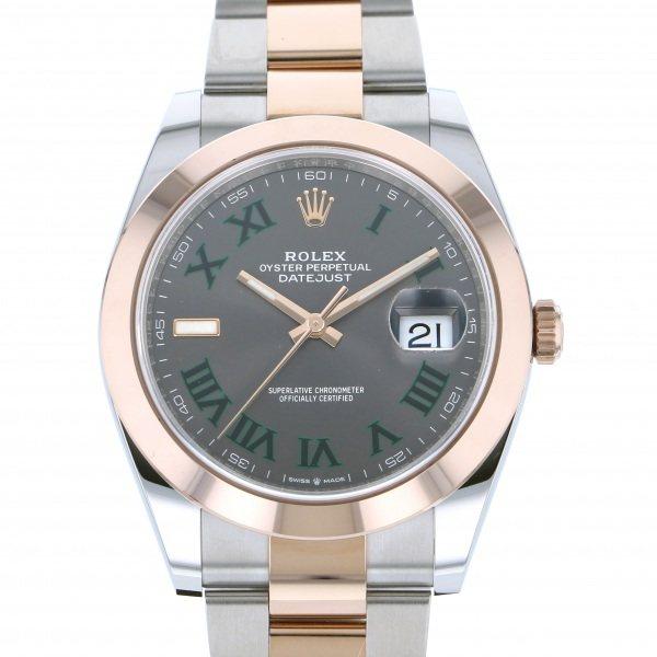 ロレックス ROLEX デイトジャスト 41 126301 グレーローマ文字盤 メンズ 腕時計 【新品】
