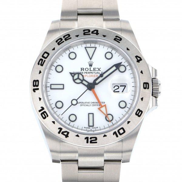 ロレックス ROLEX エクスプローラー II 216570 ホワイト文字盤 メンズ 腕時計 【新品】