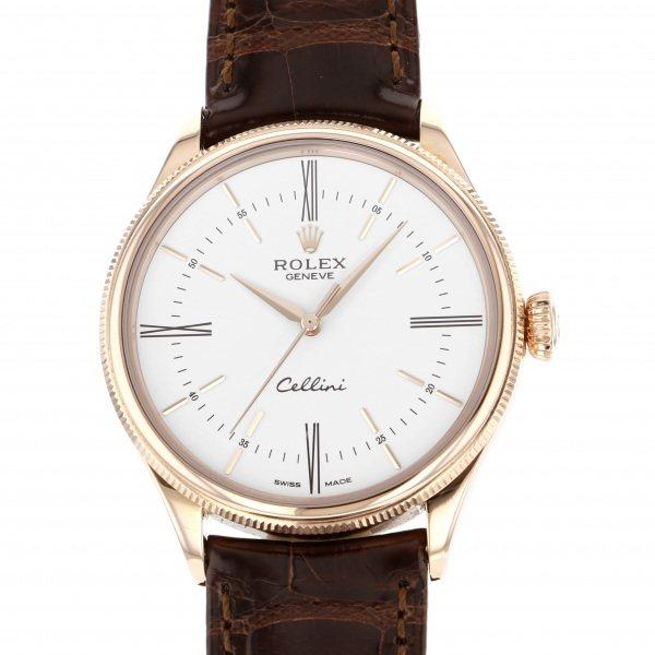 ロレックス ROLEX チェリーニ タイム 50505 ホワイトローマ文字盤 メンズ 腕時計 【新品】