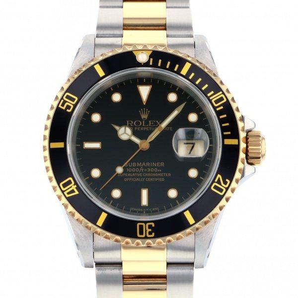 正規品販売! ロレックス ROLEX サブマリーナ デイト 16613 ブラック文字盤  腕時計 メンズ, calinuts 75d3c849