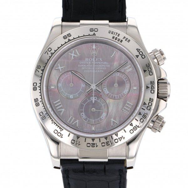 【全品 ポイント10倍 4/9~4/16】ロレックス ROLEX デイトナ 116519NR ブラックローマ文字盤 メンズ 腕時計 【中古】