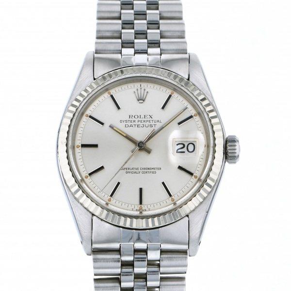 【全品 ポイント10倍 4/9~4/16】ロレックス ROLEX デイトジャスト 1601 シルバー文字盤 メンズ 腕時計 【中古】