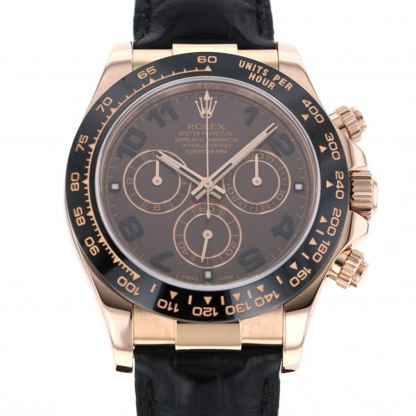 【全品 ポイント10倍 4/9~4/16】ロレックス ROLEX デイトナ 116515LN チョコレート文字盤 メンズ 腕時計 【中古】