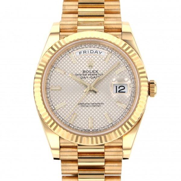 ロレックス ROLEX デイデイト 40 228238 シルバー文字盤 メンズ 腕時計 【中古】