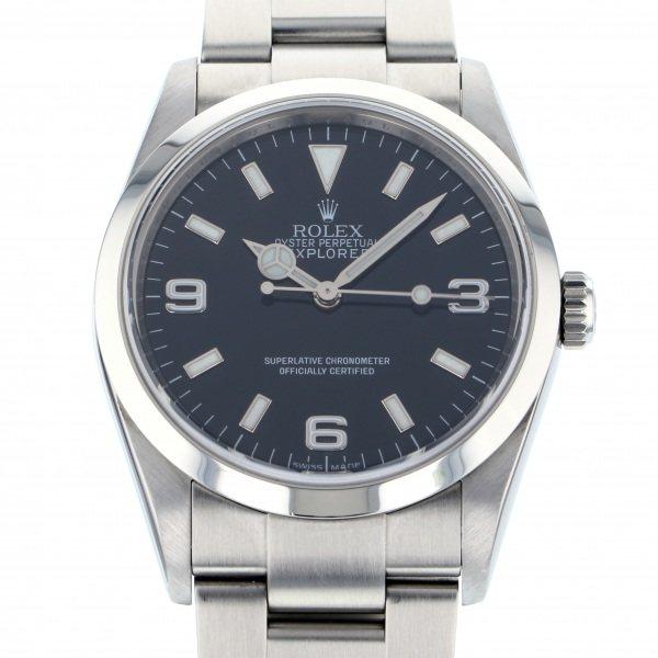 ロレックス ROLEX エクスプローラー I 114270 ブラック文字盤 メンズ 腕時計 【中古】