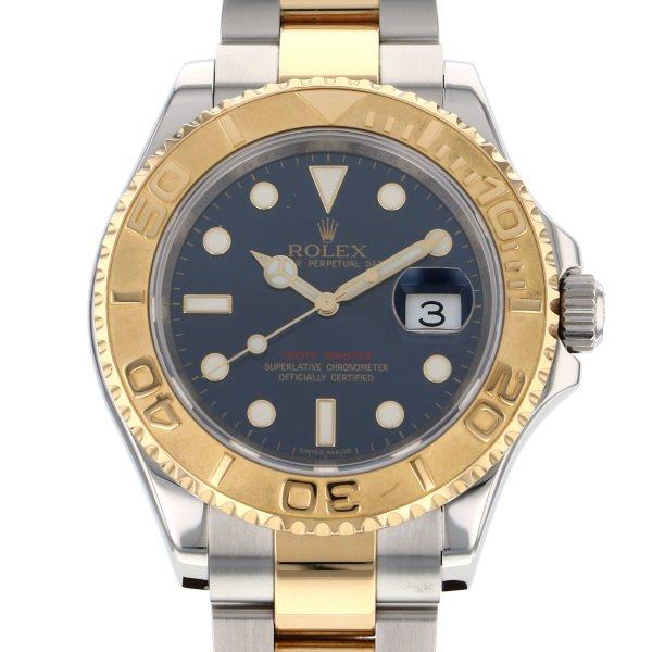 【全品 ポイント10倍 4/9~4/16】ロレックス ROLEX ヨットマスター 16623 ブルー文字盤 メンズ 腕時計 【中古】