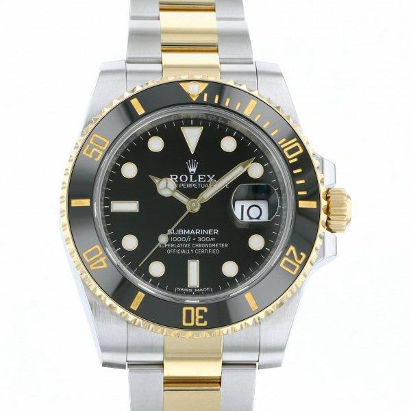ロレックス ROLEX サブマリーナ デイト 116613LN ブラック文字盤 メンズ 腕時計 【中古】