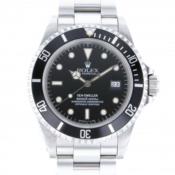 ロレックス ROLEX シードゥエラー 16600 ブラック文字盤 メンズ 腕時計 【中古】