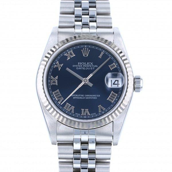 ロレックス ROLEX デイトジャスト 78274 ブルーローマ文字盤 メンズ 腕時計 【中古】