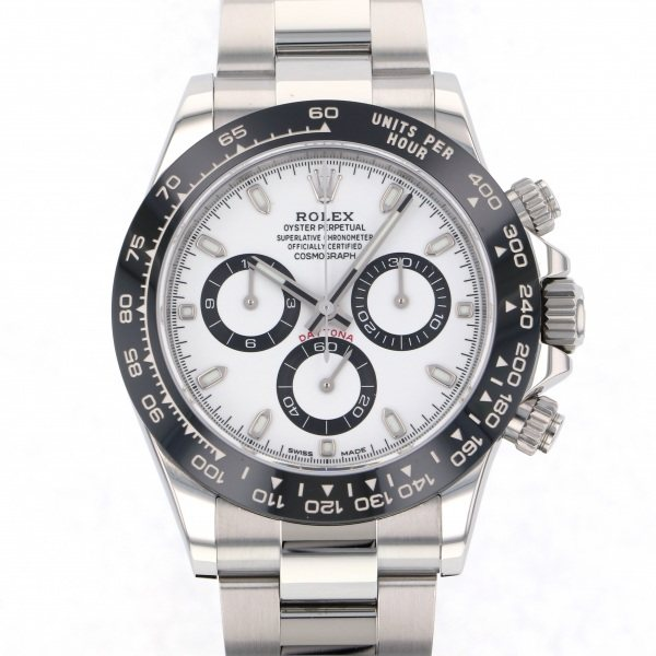 【全品 ポイント10倍 4/9~4/16】ロレックス ROLEX デイトナ 116500LN ホワイト文字盤 メンズ 腕時計 【中古】