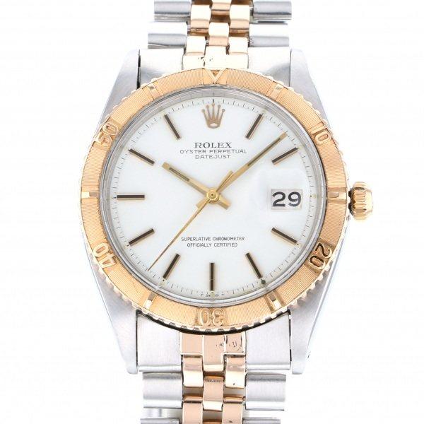 【全品 ポイント10倍 4/9~4/16】ロレックス ROLEX デイトジャスト サンダーバード 1625 ホワイト文字盤 メンズ 腕時計 【中古】