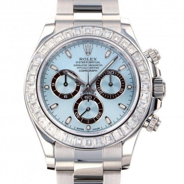 ロレックス ROLEX デイトナ 116576TBR アイスブルー文字盤 メンズ 腕時計 【中古】