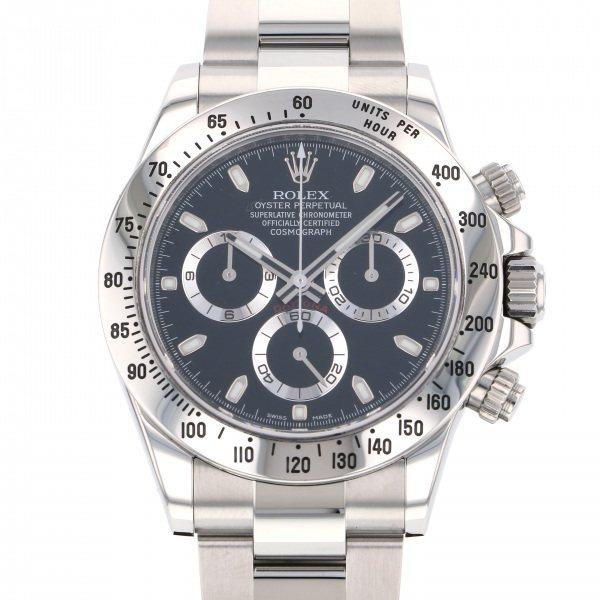 ロレックス ROLEX デイトナ 116520 ブラック文字盤 メンズ 腕時計 【中古】