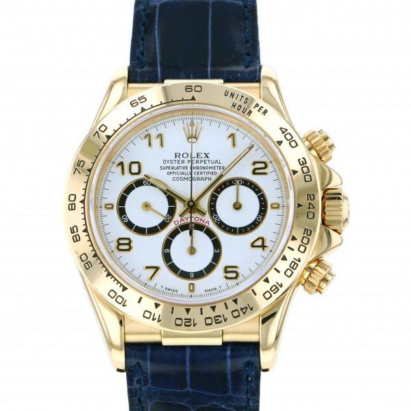 ロレックス ROLEX デイトナ 16518 ホワイト文字盤 メンズ 腕時計 【中古】