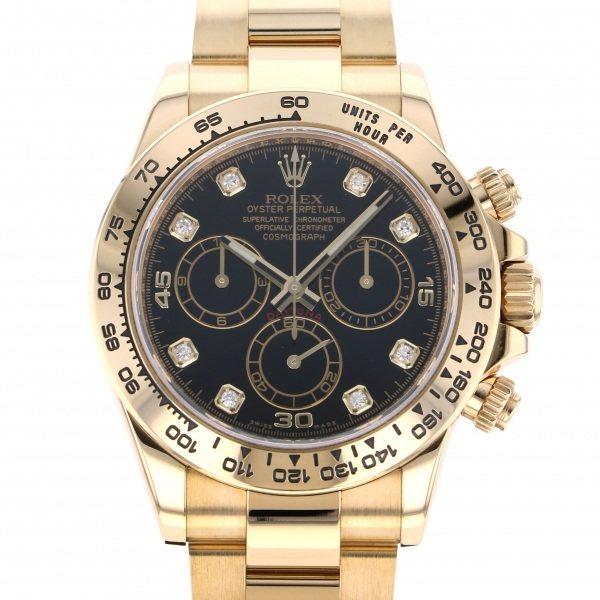 ロレックス ROLEX デイトナ 116508G ブラック文字盤 メンズ 腕時計 【中古】
