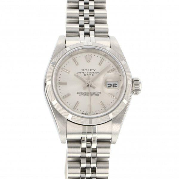 ロレックス ROLEX オイスターパーペチュアル 79190 シルバー文字盤 レディース 腕時計 【中古】