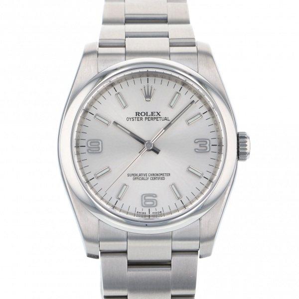 【全品 ポイント10倍 4/9~4/16】ロレックス ROLEX オイスターパーペチュアル 116000 シルバー文字盤 メンズ 腕時計 【中古】
