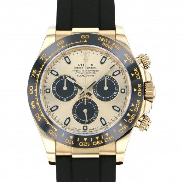 【全品 ポイント10倍 4/9~4/16】ロレックス ROLEX デイトナ 116518LN シャンパン/ブラック文字盤 メンズ 腕時計 【中古】