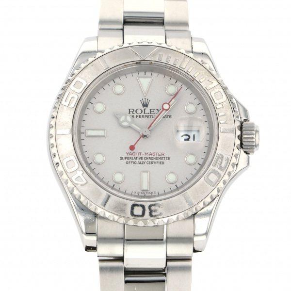 ロレックス ROLEX ヨットマスター ロレジウム 16622 シルバー文字盤 メンズ 腕時計 【中古】