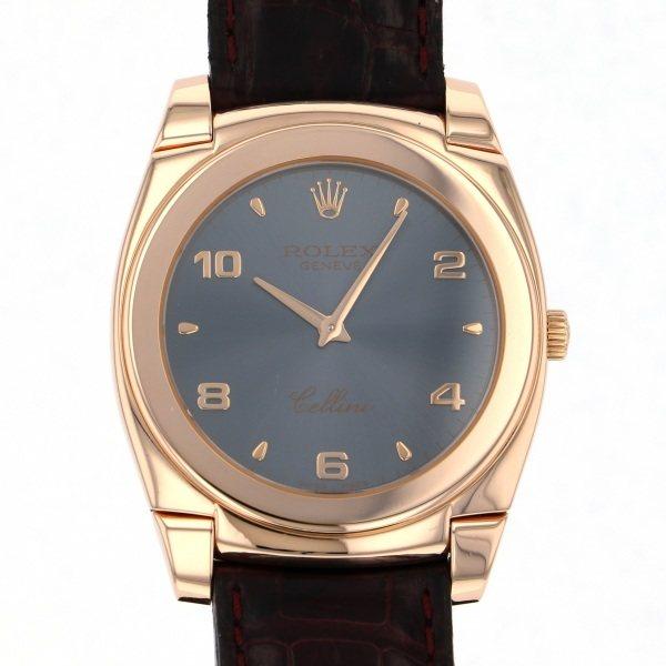 ロレックス ROLEX チェリーニ チェステロ 5330/5 グレー文字盤 メンズ 腕時計 【中古】