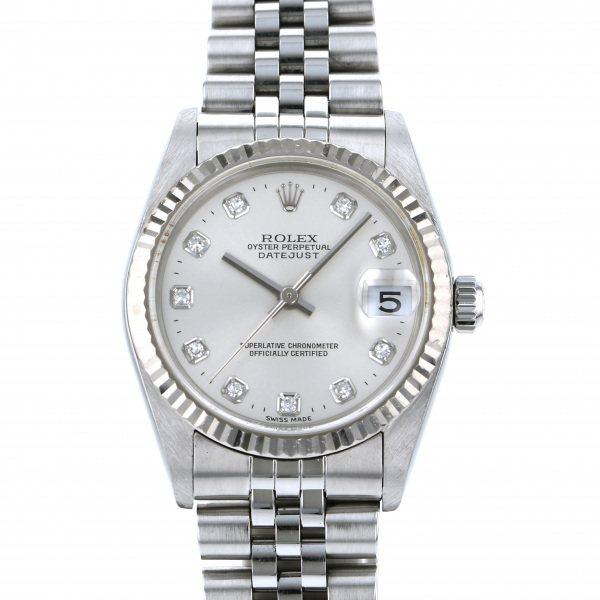 ロレックス ROLEX デイトジャスト 78274G シルバー文字盤 レディース 腕時計 【中古】