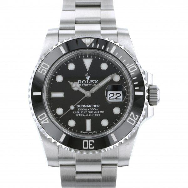 ロレックス ROLEX サブマリーナ デイト 116610LN ブラック文字盤 メンズ 腕時計 【中古】