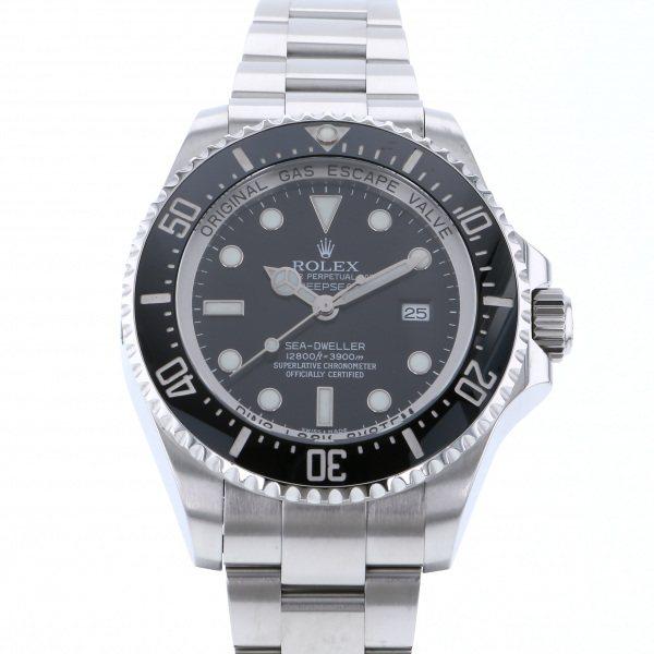 愛用 ロレックス ROLEX シードゥエラー ディープシー 116660 ブラック文字盤  腕時計 メンズ, クローバーマート 3dd238f7
