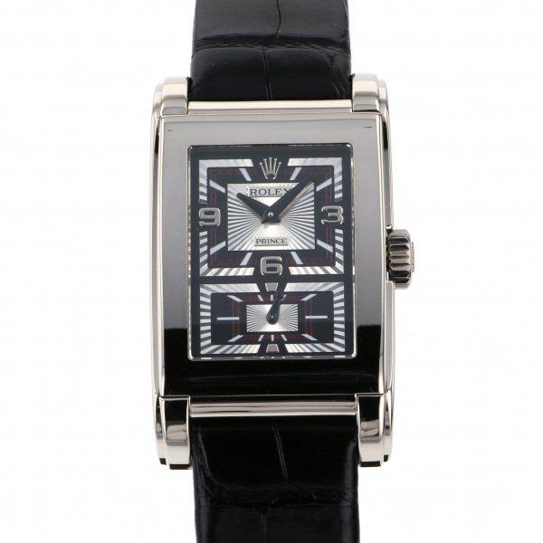 ロレックス ROLEX チェリーニ プリンス 5443/9 シルバー文字盤 メンズ 腕時計 【中古】