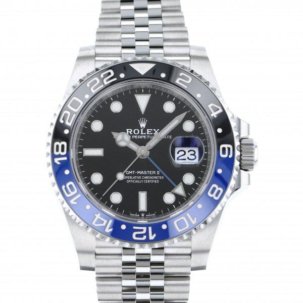 ロレックス ROLEX GMTマスター II 126710BLNR ブラック文字盤 メンズ 腕時計 【新品】