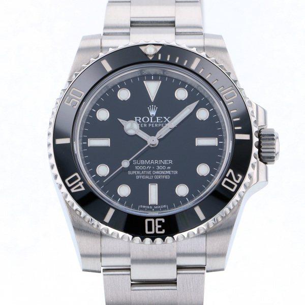 想像を超えての ロレックス ROLEX サブマリーナ 114060 ブラック文字盤  腕時計 メンズ, 西山町 3938d566