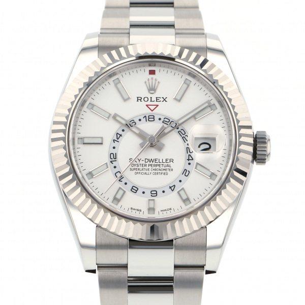 ロレックス ROLEX スカイドゥエラー 326934 シルバー文字盤 メンズ 腕時計 【中古】
