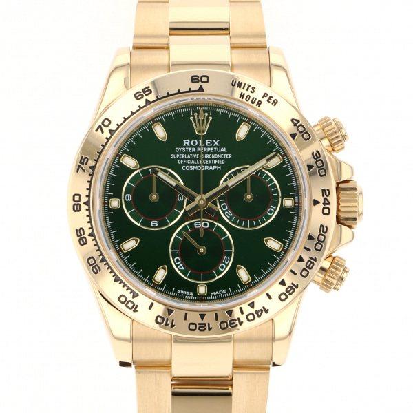 ロレックス ROLEX デイトナ 116508 グリーン文字盤 メンズ 腕時計 【中古】