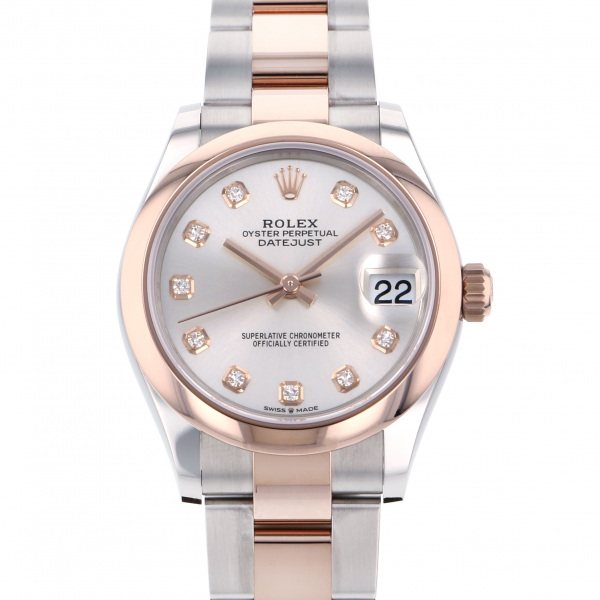 ロレックス ROLEX デイトジャスト 28 278241G シルバー文字盤 レディース 腕時計 【新品】