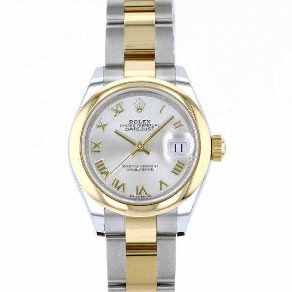 ロレックス ROLEX デイトジャスト 28 279163 シルバーローマ文字盤 レディース 腕時計 【新品】