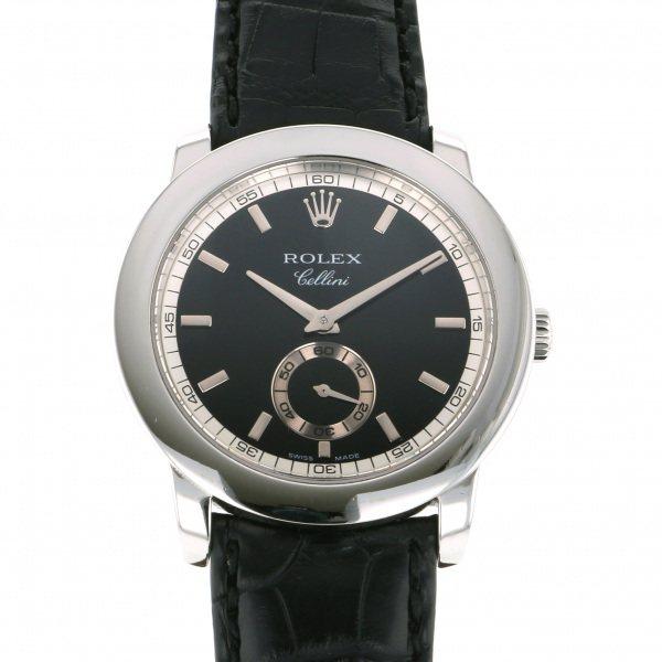 ロレックス ROLEX その他 チェリニウム 5241/6 ブラック文字盤 メンズ 腕時計 【中古】