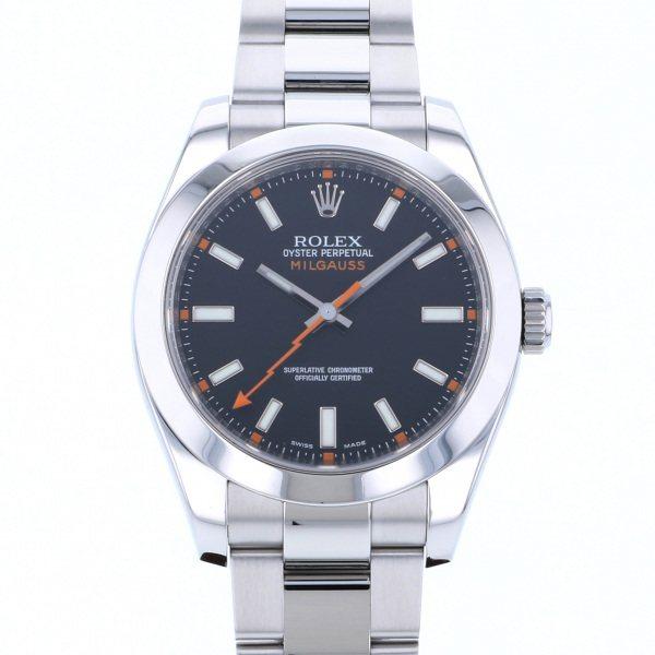 ロレックス ROLEX ミルガウス 116400 ブラック文字盤 メンズ 腕時計 【中古】