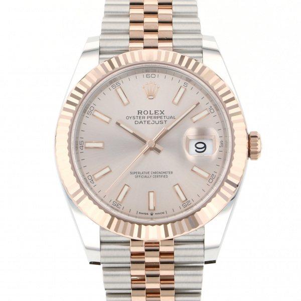 ロレックス ROLEX デイトジャスト 41 126331 サンダスト文字盤 メンズ 腕時計 【新品】