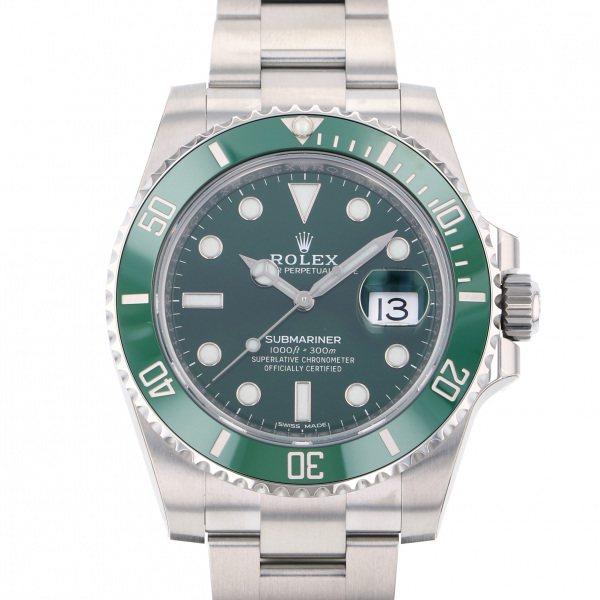 ロレックス ROLEX サブマリーナ デイト 116610LV グリーン文字盤 メンズ 腕時計 【新品】