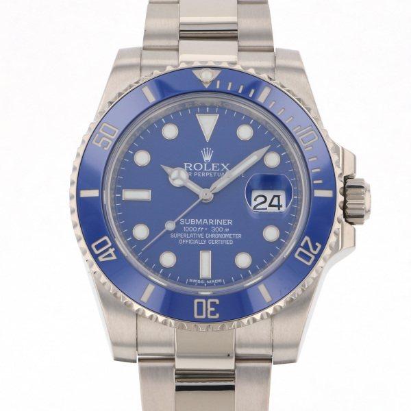 ロレックス ROLEX サブマリーナ 116619LB ブルー文字盤 メンズ 腕時計 【中古】