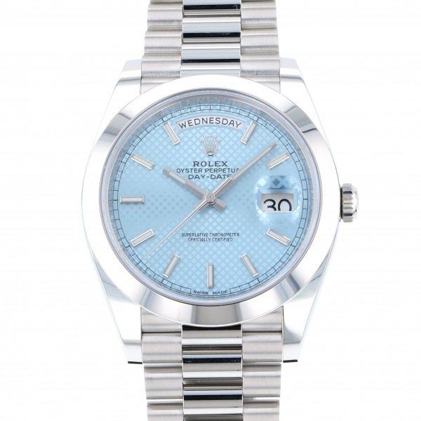 ロレックス ROLEX デイデイト 40 228206 アイスブルー文字盤 メンズ 腕時計 【新品】
