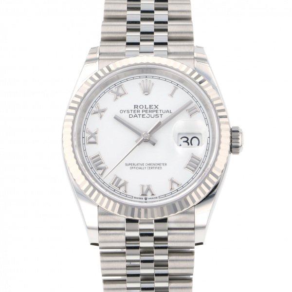 ロレックス ROLEX デイトジャスト 36 126234 シルバー文字盤 メンズ 腕時計 【新品】