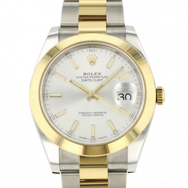 ロレックス ROLEX デイトジャスト 41 126303 シルバー文字盤 メンズ 腕時計 【新品】