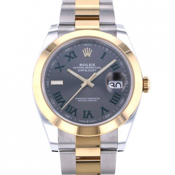 ロレックス ROLEX デイトジャスト 41 126303 グレーローマ文字盤 メンズ 腕時計 【新品】