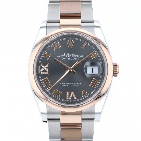 新作多数 ロレックス ROLEX デイトジャスト 36 126201 ダークロジウムローマ文字盤 新品 要エントリー 腕時計 新入荷 流行 ポイント5倍 メンズ