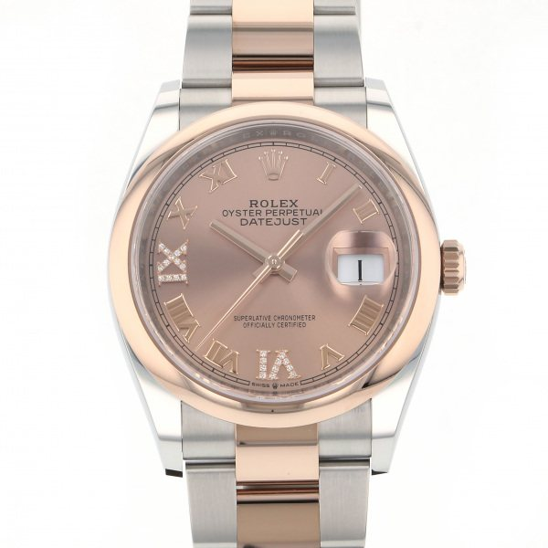 ロレックス 流行 ROLEX デイトジャスト 36 126201 ピンクローマ文字盤 メンズ 要エントリー ポイント5倍 腕時計 新品 クリアランスsale 期間限定