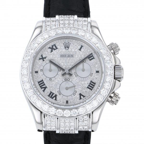 ロレックス ROLEX デイトナ 116599RBR 全面ダイヤ文字盤 メンズ 腕時計 【中古】