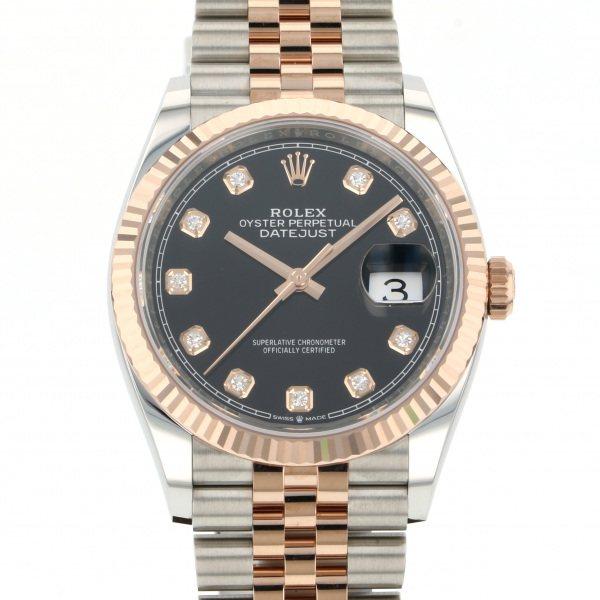 ロレックス ROLEX デイトジャスト 126231G ブラック文字盤 メンズ 腕時計 【新品】