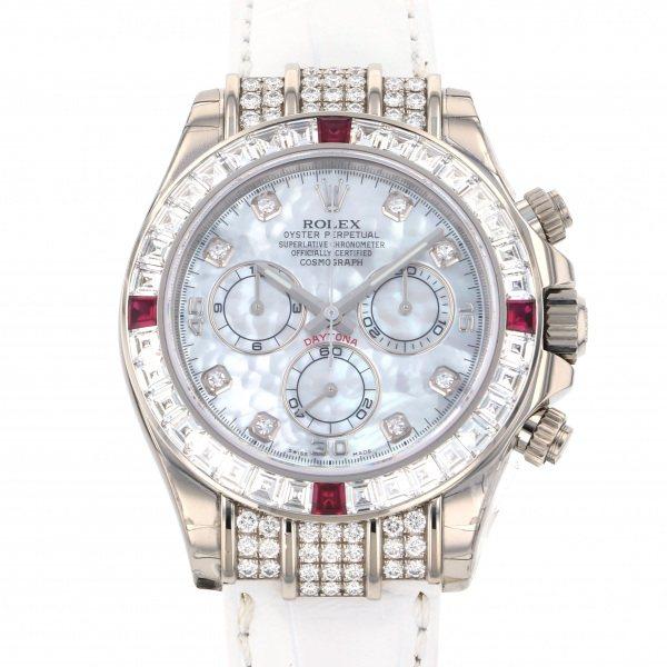 ロレックス ROLEX デイトナ 116599TBR NG 4RU ホワイト文字盤 メンズ 腕時計 【未使用】